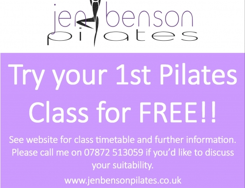 Try your first Pilates class for free!