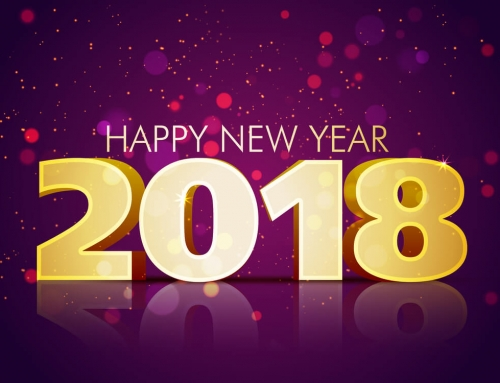 Happy New Year 2018 is here!!