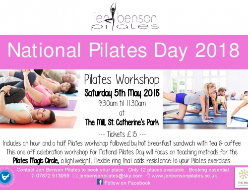 National Pilates Day 5th May 2018 – Celebratory Pilates Workshop