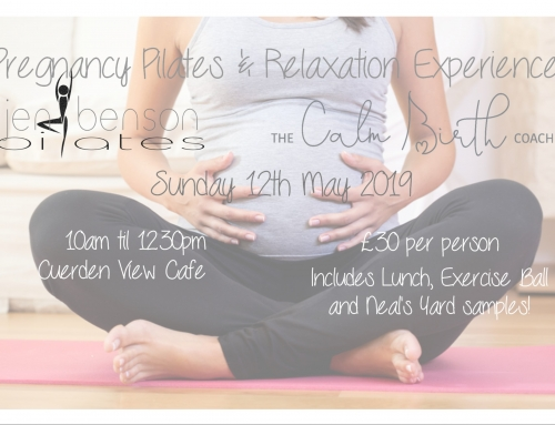 Pregnancy Pilates & Relaxation Experience – Tickets on Sale NOW