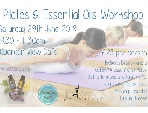 Pilates and Essential Oils Workshop – Tickets on Sale NOW