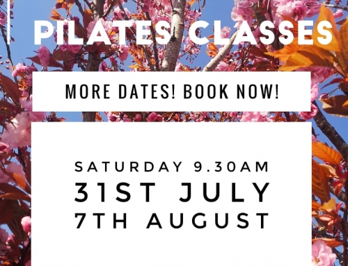 Garden Pilates – New dates added! Book Now!